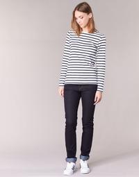 Îmbracaminte Femei Jeans drepti Yurban IESQUANE Albastru / Culoare închisă