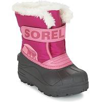 Pantofi Copii Cizme de zapadă Sorel CHILDRENS SNOW COMMANDER Roz