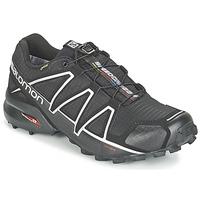 Pantofi Bărbați Trail și running Salomon SPEEDCROSS 4 GTX® Negru / Argintiu