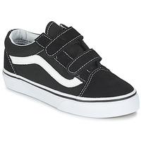 Încăltăminte Copii Pantofi sport Casual Vans OLD SKOOL V Negru / Alb