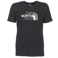 Îmbracaminte Bărbați Tricouri mânecă scurtă The North Face S/S EASY TEE Negru