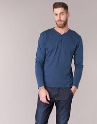 Îmbracaminte Bărbați Tricouri cu mânecă lungă  BOTD ETUNAMA Bleumarin