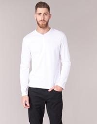 Îmbracaminte Bărbați Tricouri cu mânecă lungă  BOTD ETUNAMA Alb