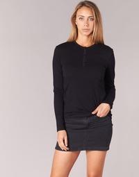 Îmbracaminte Femei Tricouri cu mânecă lungă  BOTD EBISCOL Negru