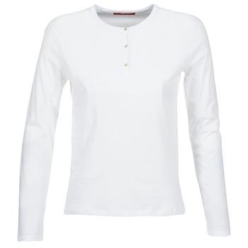 Îmbracaminte Femei Tricouri cu mânecă lungă  BOTD EBISCOL Alb