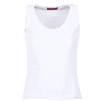 Îmbracaminte Femei Maiouri și Tricouri fără mânecă BOTD EDEBALA Alb