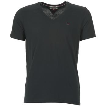Îmbracaminte Bărbați Tricouri mânecă scurtă Tommy Jeans MALATO Negru