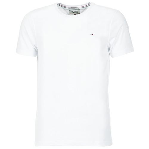 Îmbracaminte Bărbați Tricouri mânecă scurtă Tommy Jeans OFLEKI Alb
