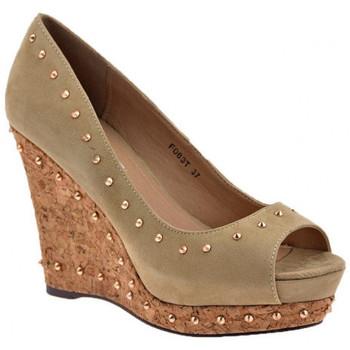 Pantofi Femei Pantofi cu toc F. Milano  Gri