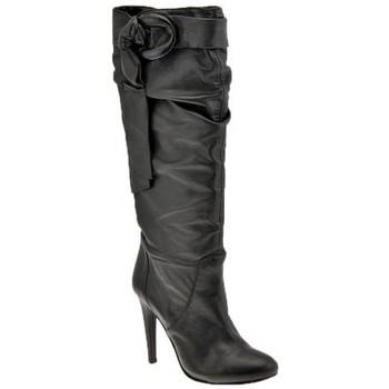 Pantofi Femei Cizme casual Ssamzie  Negru