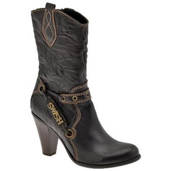 Pantofi Femei Botine Swish  Maro