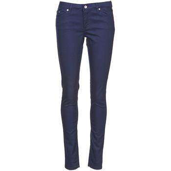 Îmbracaminte Femei Pantalon 5 buzunare Element STICKER Albastru