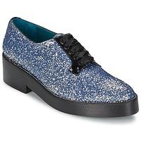 Pantofi Femei Pantofi Derby Sonia Rykiel 676318 Albastru / Argintiu