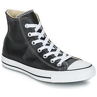 Pantofi Pantofi sport stil gheata Converse Chuck Taylor All Star CORE LEATHER HI Negru