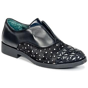Pantofi Femei Pantofi Derby Café Noir BASILE Negru
