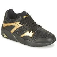 Încăltăminte Femei Pantofi sport Casual Puma BLAZE GOLD WN'S Negru / Auriu