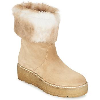 Pantofi Femei Ghete Nome Footwear MOVETTA Bej
