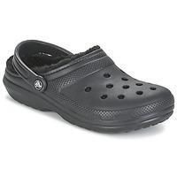 Pantofi Saboti Crocs CLASSIC LINED CLOG Negru