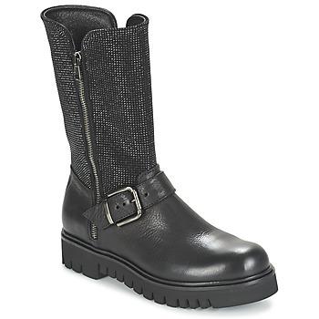 Pantofi Femei Cizme casual Now BOURNIRO Negru