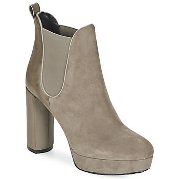 Pantofi Femei Botine Luciano Barachini MILI Taupe