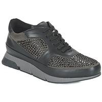 Pantofi Femei Pantofi sport Casual Luciano Barachini OXFORD Negru / Gri
