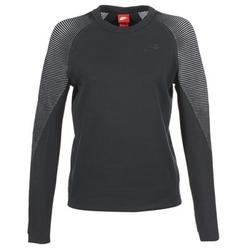 Îmbracaminte Femei Hanorace  Nike TECH FLEECE CREW Negru
