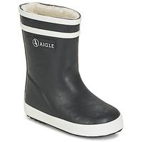 Pantofi Copii Cizme de cauciuc Aigle BABY FLAC FUR Bleumarin