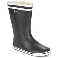 Pantofi Femei Cizme de cauciuc Aigle MALOUINE FUR Negru