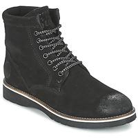 Pantofi Bărbați Ghete Superdry STIRLING BOOT Negru