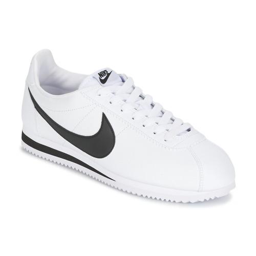 Pantofi Bărbați Pantofi sport Casual Nike CLASSIC CORTEZ LEATHER Alb / Negru