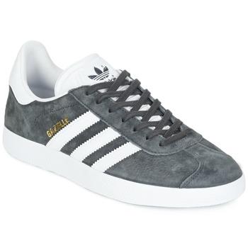 Încăltăminte Pantofi sport Casual adidas Originals GAZELLE Gri / Culoare închisă