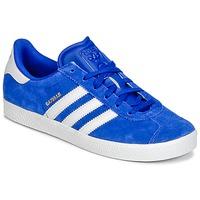 Pantofi Băieți Pantofi sport Casual adidas Originals GAZELLE 2 J Albastru