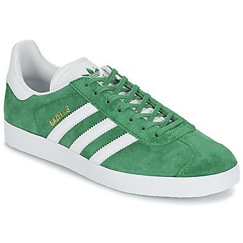 Încăltăminte Pantofi sport Casual adidas Originals GAZELLE Verde
