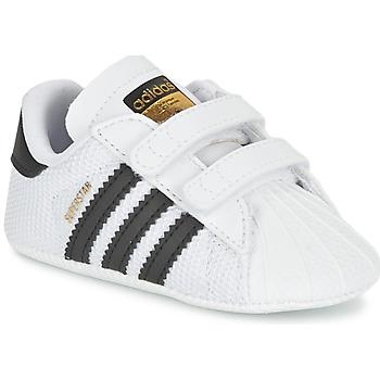 Pantofi Copii Pantofi sport Casual adidas Originals SUPERSTAR CRIB Alb