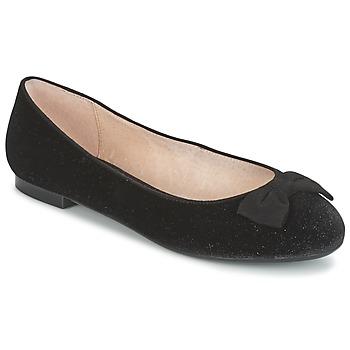 Pantofi Femei Balerin și Balerini cu curea Mellow Yellow ALANIS Negru