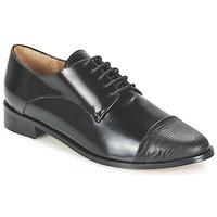Pantofi Femei Pantofi Derby Emma Go SHERLOCK Negru