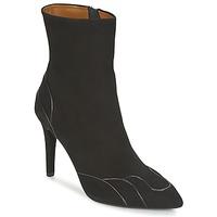 Pantofi Femei Botine Heyraud DARLING Negru