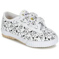 Încăltăminte Copii Pantofi sport Casual Feiyue FE LO SNOOPY EC Alb