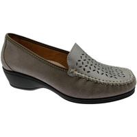 Pantofi Femei Mocasini Calzaturificio Loren LOK3929ta tortora