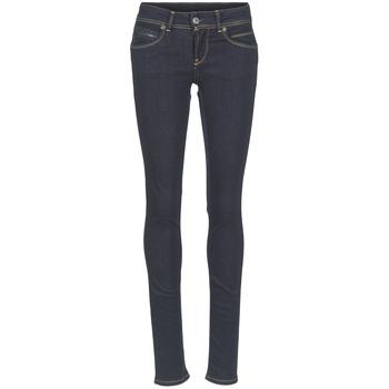Îmbracaminte Femei Jeans slim Pepe jeans NEW BROOKE M15 / Albastru / Brut