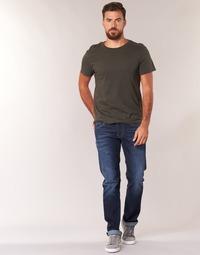 Îmbracaminte Bărbați Jeans drepti Pepe jeans CASH Albastru / Culoare închisă