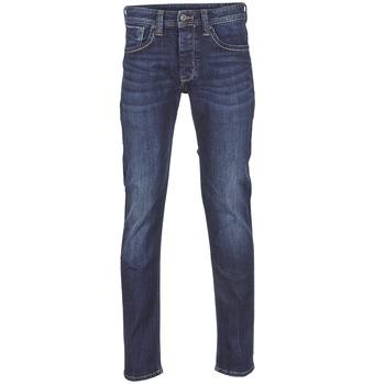 Îmbracaminte Bărbați Jeans drepti Pepe jeans CASH Z45 / Albastru / Culoare închisă