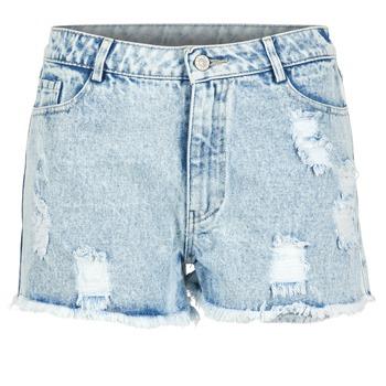 Îmbracaminte Femei Pantaloni scurti și Bermuda Yurban EVANUXE Albastru / LuminoasĂ