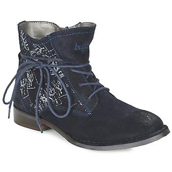 Pantofi Femei Ghete Bugatti LEEALE Bleumarin