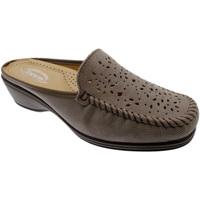 Pantofi Femei Papuci de vară Calzaturificio Loren LOK3953ta tortora