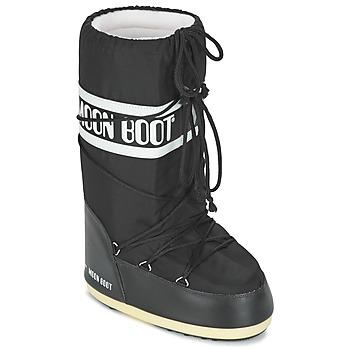 Pantofi Cizme de zapadă Moon Boot MOON BOOT NYLON Negru