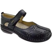 Pantofi Femei Balerin și Balerini cu curea Calzaturificio Loren LOM2313gr grigio