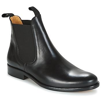 Pantofi Bărbați Ghete Brett & Sons LOUVAL Negru