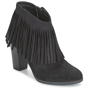 Pantofi Femei Botine Elue par nous VOPBIL Negru