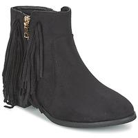 Pantofi Femei Ghete Elue par nous VOPFOIN Negru